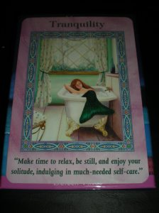 oracle cards, mermaids