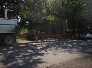 sidewalk work