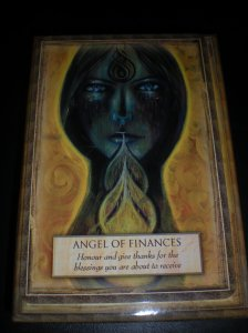 oracle cards, messages of financial success