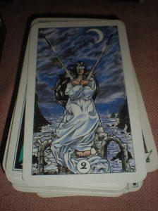 tarot cards, swords suit