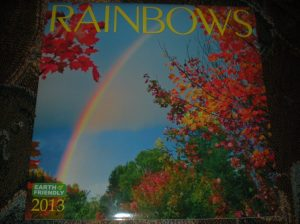 rainbow calendars, travel photos