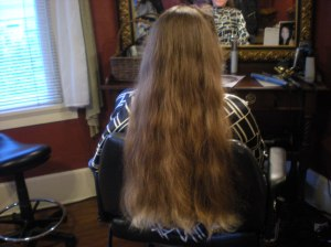 donating long hair