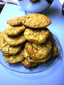 home-made oatmeal cookies