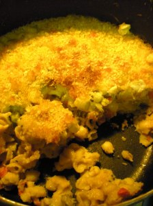 home made mac and cheese