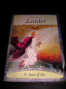 angels and saints oracle cards