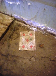 found cards