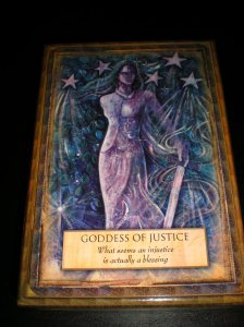 oracle and goddess cards