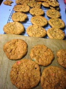 odd cookie baking