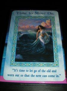 mermaid and oracle cards