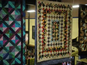 Hawaiian fabrics at quilt show