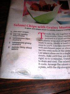 salami recipes