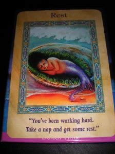 oracle cards, mermaid messages
