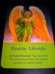 archangel messages, healthy living