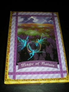 oracle cards, enjoying the magic of nature