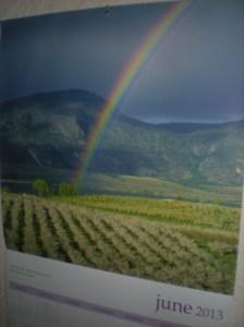 rainbow calendars, canadian rainbows