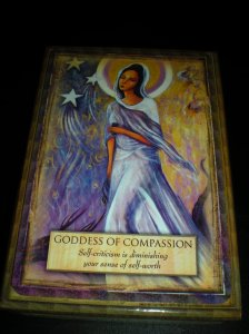 oracle cards and goddess messages