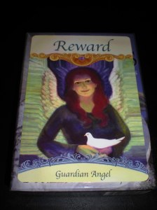 angel cards and messages, guardian angel