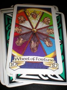 The Wheel of Fortune  ~  10