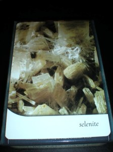 selenite, oracle cards