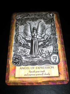 angel cards, self-expression