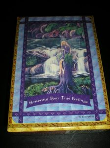 oracle cards, faerie messages