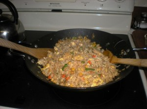 Dungeness Crab fried rice.