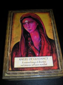 oracle cards, angels and gods and goddesses