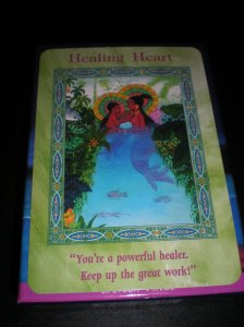 mermaid messages, oracle cards