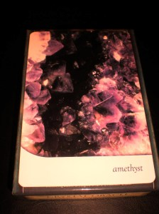 amethyst, crystals, oracle cards, healing stones