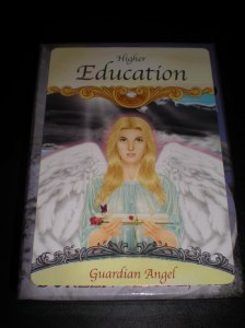 angel cards, higher education messages, learning life