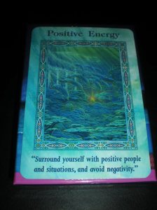 oracle cards, dolphin and mermaid messages, positive energy