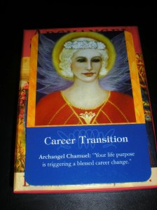 archangels, transition messages, oracle cards