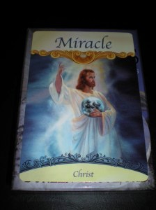 jesus christ, angel cards, miracles