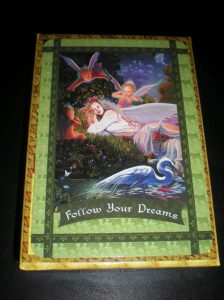 fairie oracle cards, follow your dreams