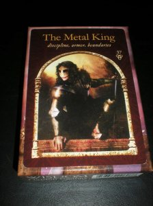 oracle cards, the metal king