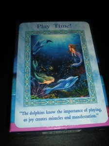 oracle cards, dolphin and mermaid messages