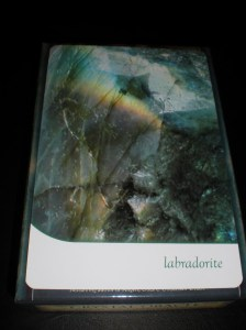 labradorite, oracle cards