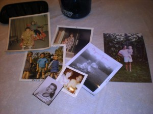family photos, found treasures