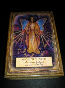 angel messages, oracle cards, support