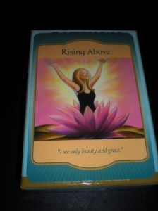 oracle cards, rising above