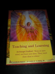 archangels messages, oracle cards