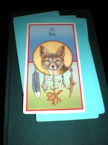 animal messages, oracle cards