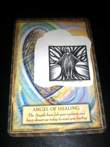 healing, oraacle and angel cards