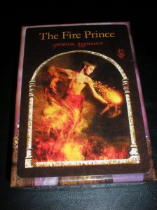 the fire prince, oracle cards
