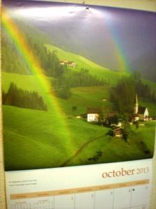 rainbow photos, Italy