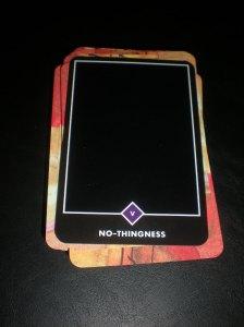alternative tarot, nothing-ness