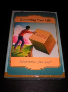 oracle cards, renewing your life, radiate vitality