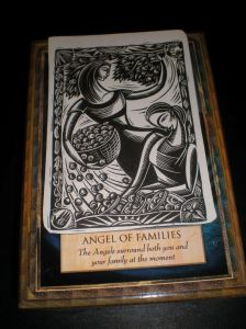 oracle cards, angel messages, family blessings