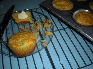 cheesy corn muffins
