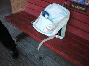 Hello Kitty Angel backpack